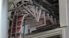 Printing newspaper, transport Stock Footage