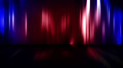 Abstract Stage Curtains Loop - stock footage