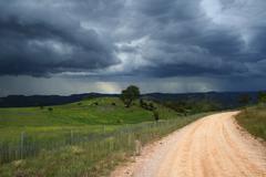 Approaching storm Stock Photos
