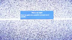 No signal TV Stock Footage