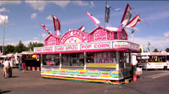 County fair 05-pond 5 720 Stock Footage