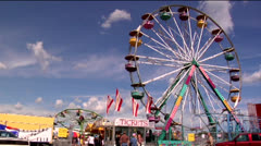 County fair 01-pond 5 720 Stock Footage