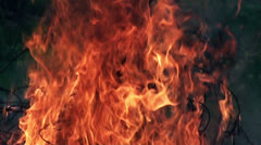 Fire in slow motion (4) Stock Footage