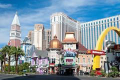 Venetian casino hotel resort on the las vegas strip Stock Photos