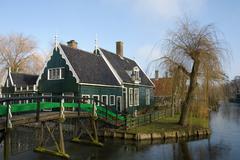 Dutch houses Stock Photos