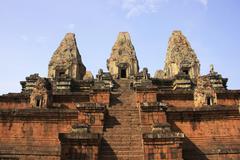 pre rup temple - stock photo