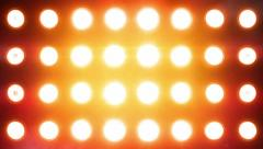Lights flashing. Amber Stock Footage