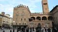 Piazza del Nettuno, Bologna HD Footage
