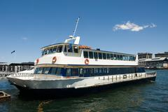 Harbour cruiser Stock Photos