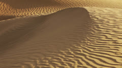 a sand dune close-up. india - stock footage