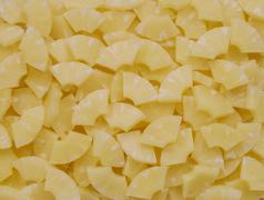 Stock Photo of pineapple slices