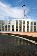 Parliament house, canberra, australia Stock Photos
