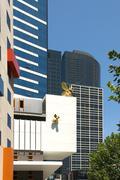 inner-city buildings - stock photo