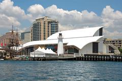 national maritime museum - stock photo
