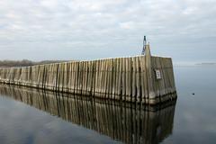 harbour entrance - stock photo
