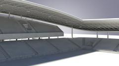 Sports Stadium - 3D model
