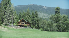 Mountain House Stock Footage