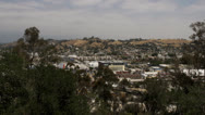 City from vista point Stock Footage