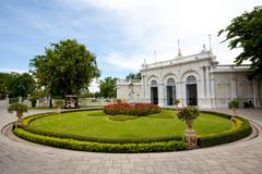 Pang-pa-in palace in thailand Stock Photos