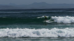 Young byron bay surfer Stock Footage