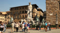 Fountain of Neptune, Florence HD Footage