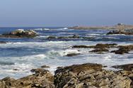 Stock Photo of Wild coast at Quiberon in France
