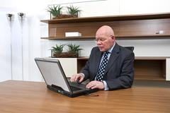 company director - stock photo