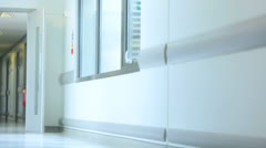 Medical Staff Working Modern Hospital Facility Stock Footage