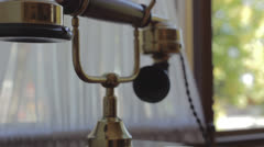 Vintage telephone Stock Footage