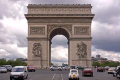 Arc de triomphe Stock Photos