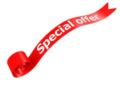 Special offer - stock illustration