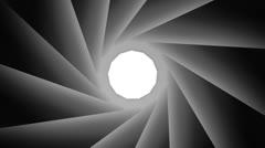 Diaphragm - stock footage