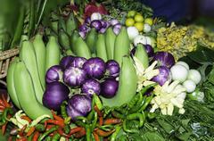 Beautiful vegetables Stock Photos