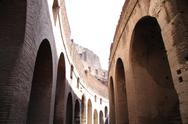 Stock Photo of Colosseum Walkways