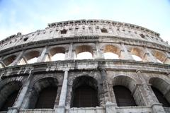 Colosseum Walls - stock photo