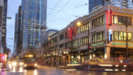 Stock Video Footage of Timelapse Downtown Seattle 2