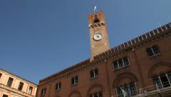 Palazzo dei Trecento. Treviso, Italy - stock footage