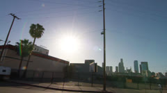 Downtown LA 18 - stock footage