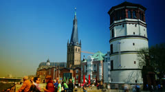 Maritime Museum Dusseldorf Germany,4k Stock Footage