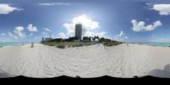 Stock panoramic photo of Miami Beach Stock Photos