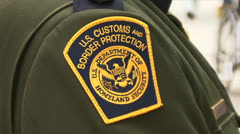 U.S. Border Patrol - stock footage
