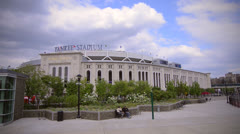 Yankee Stadium - stock footage