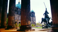 Stock Video Footage of Germany Berlin Altes Museum