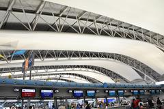 osaka, japan - oct 24: kansai international airport taken on 2012 october 24 - stock photo