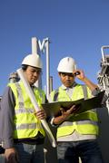 Engineer power and energy Stock Photos