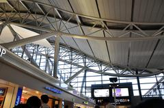 osaka, japan - oct 24: kansai international airport, taken on 2012 october 24 - stock photo