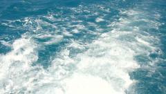Splashing Waves - stock footage
