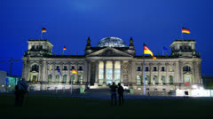 Reichstag, Berlin Stock Footage