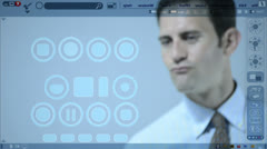 Touch Screen - stock footage