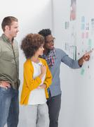Team of designers working together Stock Photos